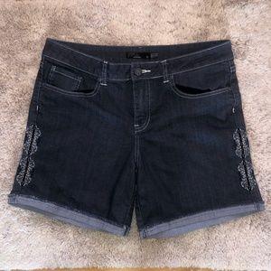 Prana Women's Stretch Jean Shorts Size 10